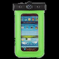 Водонепроницаемый чехол для смартфонов до 5.5'' с компасом Bingo