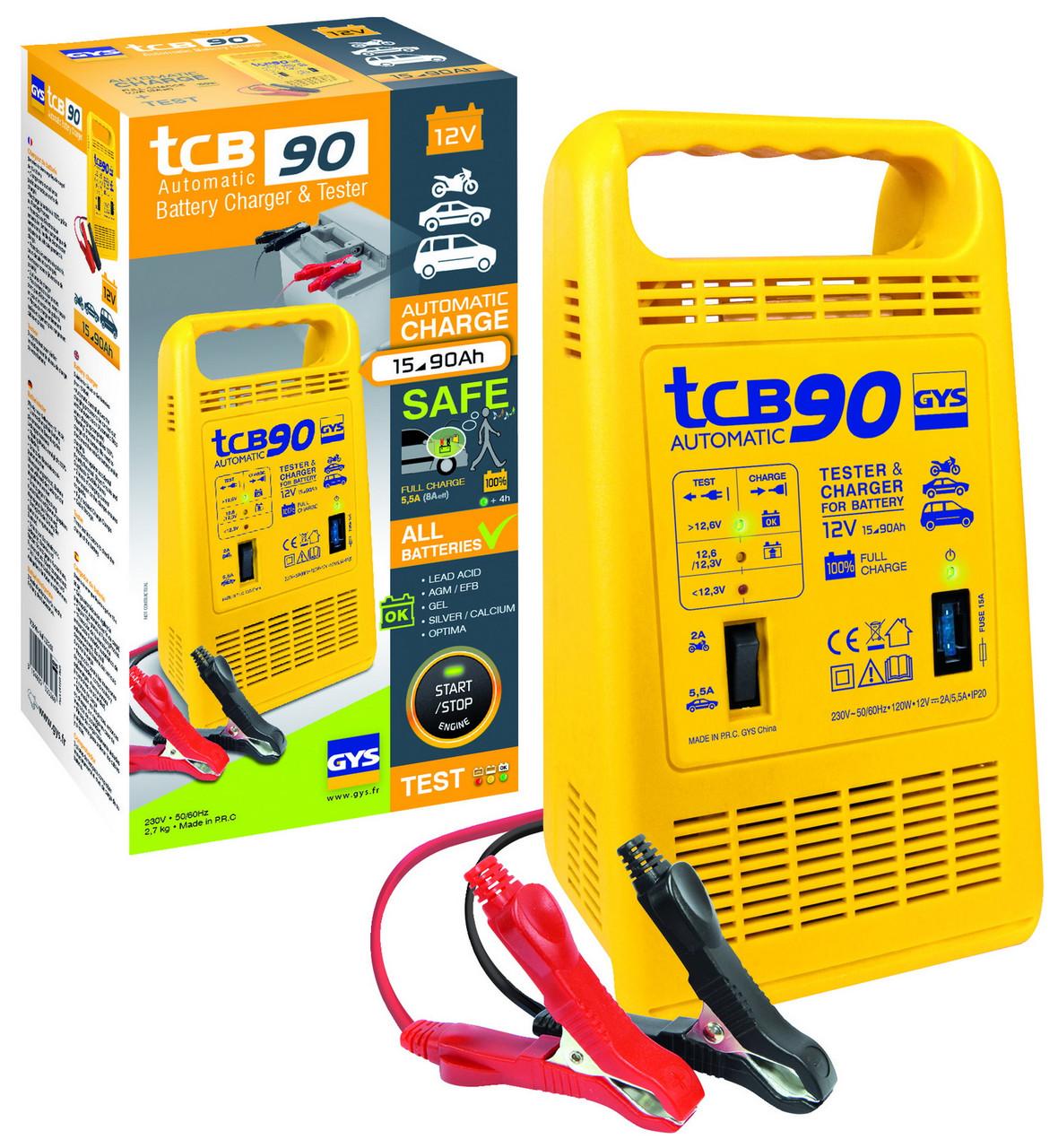 Зарядное устройство GYS TCB 90 automatic