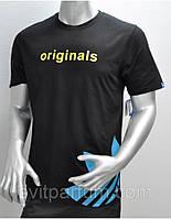 Мужская футболка Adidas из хлопка, Донецк одежда, футболки оптом дешево