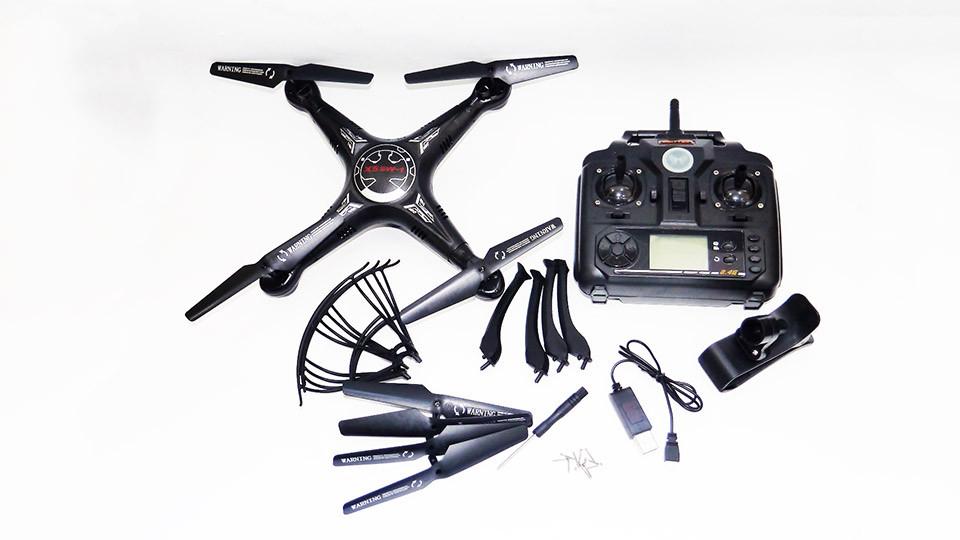 Квадрокоптер X5SW-1 камера WiFi