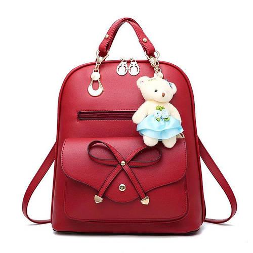 d51636a8199d Рюкзак женский Candy Bear bantyk dark red: продажа, цена в  Ивано-Франковске. рюкзаки городские и спортивные от