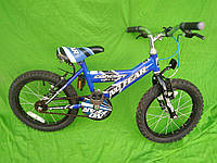 Дитячий велосипед no fear колеса 16 + допоміжні колеса
