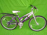 Підлітковий велосипед Raleigh, колеса 24, алюміній