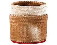 Бамбуковая корзинка-пароварка для риса 15 см
