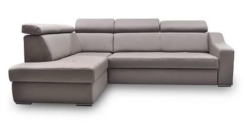 Кожаный диван FX-15 угол H