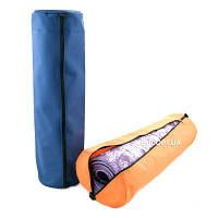 Чехол для коврика, каремата для йоги, фитнеса и туризма на молнии, ткань OXFORD 600D