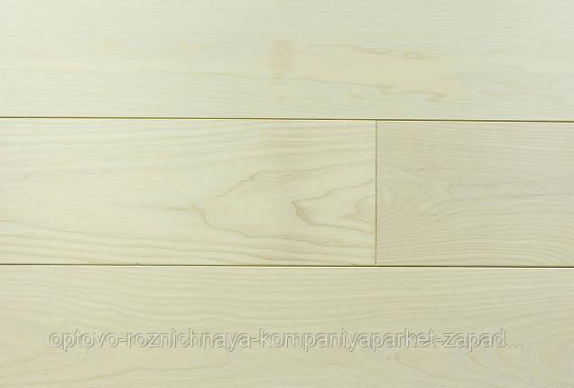 """Массивная паркетная доска Ясень, цвет """"Белый"""", ширина 140 мм, фото 2"""