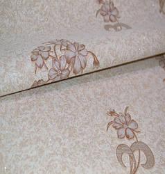 Обои на стену, винил на флизелине, K502-02, Аида, цветок, шахмата, 1,06*10м, ограниченное количество
