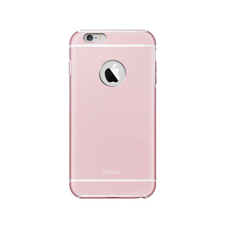 Защитный чехол iBacks Armour розовый для iPhone 6/6S Plus