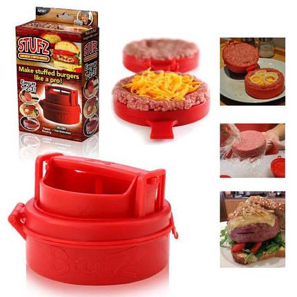 Пресс для бургеров Stufz одинарный форма для бутербродов бургеров котлет, фото 2