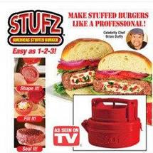 Пресс для бургеров Stufz одинарный форма для бутербродов бургеров котлет, фото 3