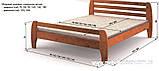Кровать Милан односпальная 90 (Мебигранд/Mebigrand) 1050х1990(2090)х800мм , фото 2