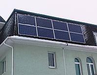 Автономная Солнечная станция 2 кВт. Реализованный объект в Запорожской области.
