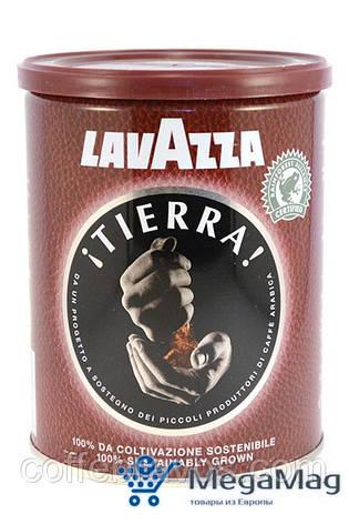 Кофе молотый LAVAZZA Tierra 250г ж/б, фото 2