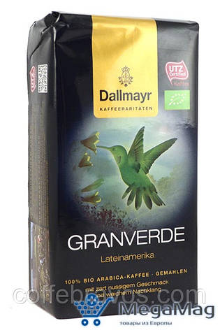 Кофе молотый DALLMAYR Granverde 250г, фото 2