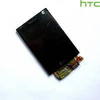 Дисплейный модуль (дисплей + сенсор) для HTC P3702, черный, оригинал