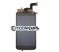 Оригинальный Дисплей (Модуль)+Сенсор (Тачскрин)  для Motorola Moto G4 Play XT1607  (Черный)