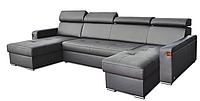 Кожаный угловой диван FX-15 D