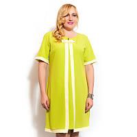 """Женское летнее платье большого размера """"Бантик"""""""