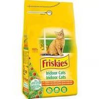 Friskies Indoor корм для кошек, не выходящих на улицу, 1,5 кг