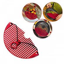 Дуршлаг-накладка для слива воды Better Strainer сито для промывания продуктов