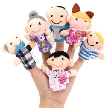 Игрушки куклы для пальчикового театра