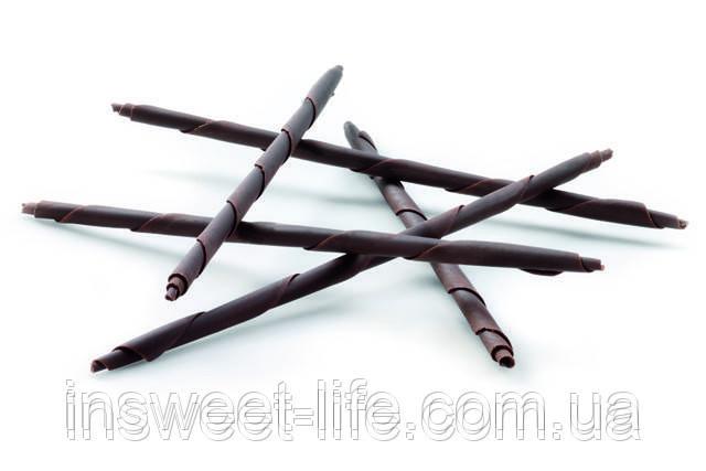 Шоколадний олівець чорний CALLEBAUT RUBENS 20см 120шт/0,9 кг