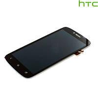 Дисплейный модуль (дисплей + сенсор) для HTC S560 One S, черный, оригинал