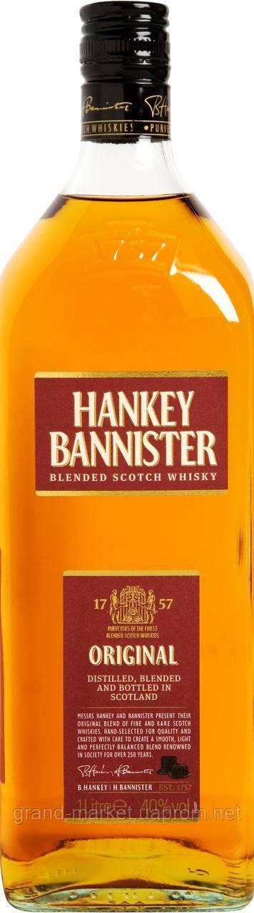 Hankey Bannister Scotch 1L