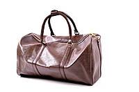 Дорожная стильная сумка из экокожи