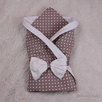 """Летний конверт-одеяло """"Valleri"""" (классический горох), фото 1"""