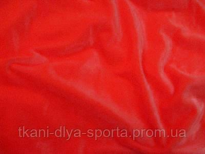 Стрейч-бархат гладкий CHRISANNE (Англия) ярко-алый (fluo red)