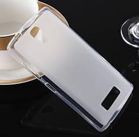 Силиконовый чехол накладка для Lenovo A656/A766 White