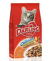 Darling корм для кошек с курицей и овощами, 2 кг