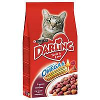 Darling корм для кошек с мясом и овощами, 2 кг