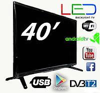 "SMART TV Led телевизор Backlight TV L40"" ANDROID,HD Ready"