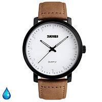 Мужские часы Skmei 1196 коричневые