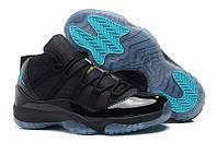 "Кроссовки Nike Air Jordan 11 Retro ""Black/Gamma Blue"""