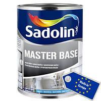Алкидная грунтовочная краска Sadolin Master Base белая 1л (Садолин Мастер Бейс)