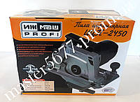 Дисковая электрическая пила Ижмаш Профи ИЦП-2450 (крепление к столу)
