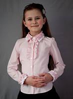 Блузка для девочки в школу 2010