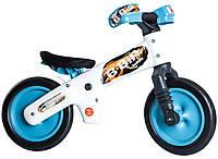 Беговел BELLELLI B-Bip Pl, белый с голубыми колёсами (BB)