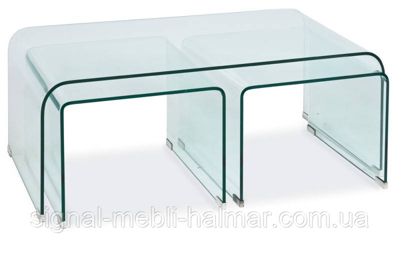 Журнальный столик Priam A  стеклянный (SIGNAL)