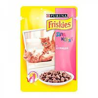 Консервы Friskies Kitten для котят с курицей, 100 г