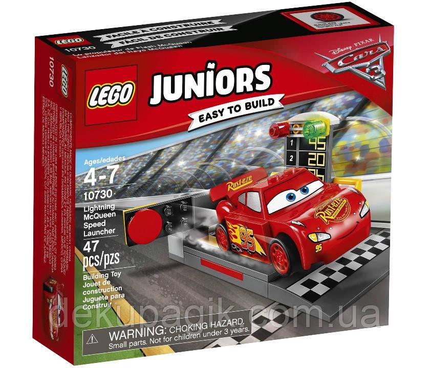 Lego Juniors Устройство для запуска Молнии МакКуина 10730