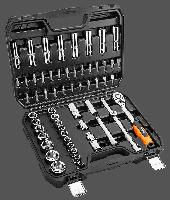 Набор торцевых головок, трещетка NEO Tools 08-663