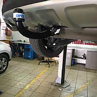 Быстросъемный фаркоп Kia Sportage 2015- на ключе (Киа Спортеж)