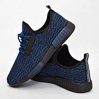 Мужские кроссовки синие (Код: DRM-305)
