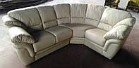 Угловой кожаный диван Лондон