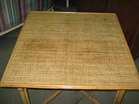 Столик плетеный, бамбуковый